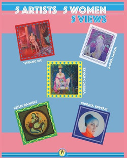 Five Artist,Five Women, Five Views