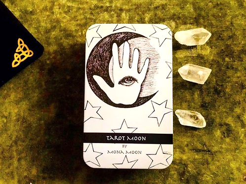 Tarot Deck 78 cards Limited Edition by Mona Moon