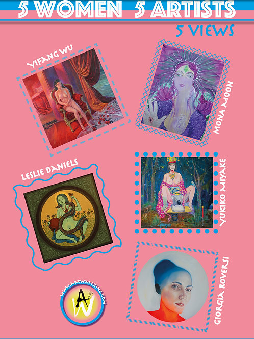 """Five Women Five Artists Five View"" Art Book"