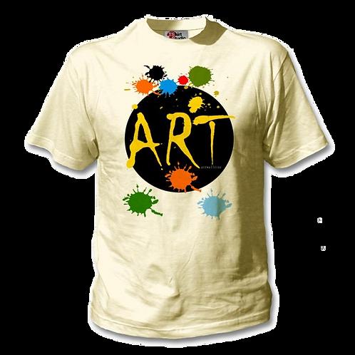 T shirt organic cotton Art