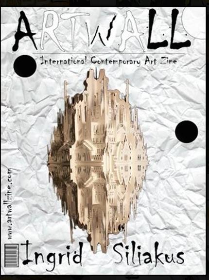 Art Magazine Artwallzine Ingrid Siliakus Art in Paper  issue 42