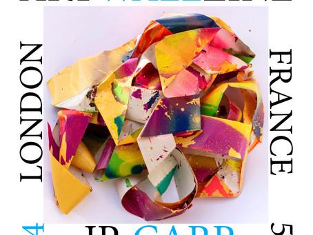 Next Art BOOK from Artwallzine: JP_ Carp from France