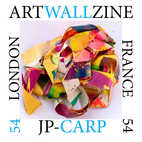 Art Book Artwallzine JP Carp France Abstract street art  issue 54