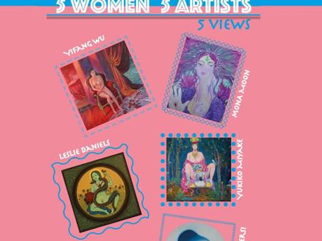 New Art Book Five Women, Five Artists, Five views international art