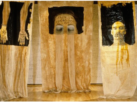 Lesley Dill : sculptures textil