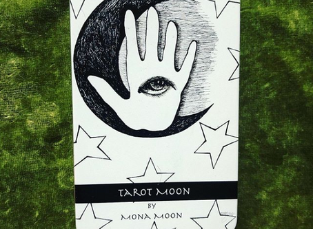 Moon Tarot Deck by Mona Moon