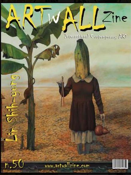 Art Magazine Artwallzine Lin Shih-yung issue 47