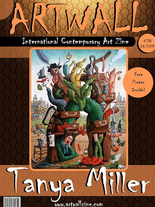 Art Magazine Artwallzine Tanya Muller Canada