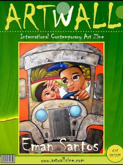 Art Magazine Artwallzine Eman Santos Indonesia