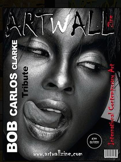 Art magazine issue 44with Art Magazine Artwallzine Tony South iss