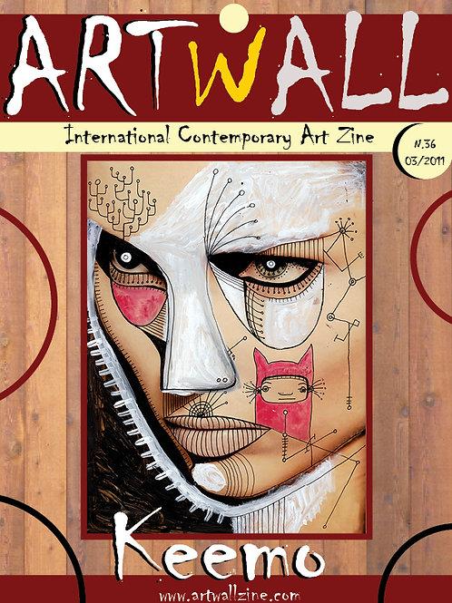 copy of Art Magazine Artwallzine Keemo USA