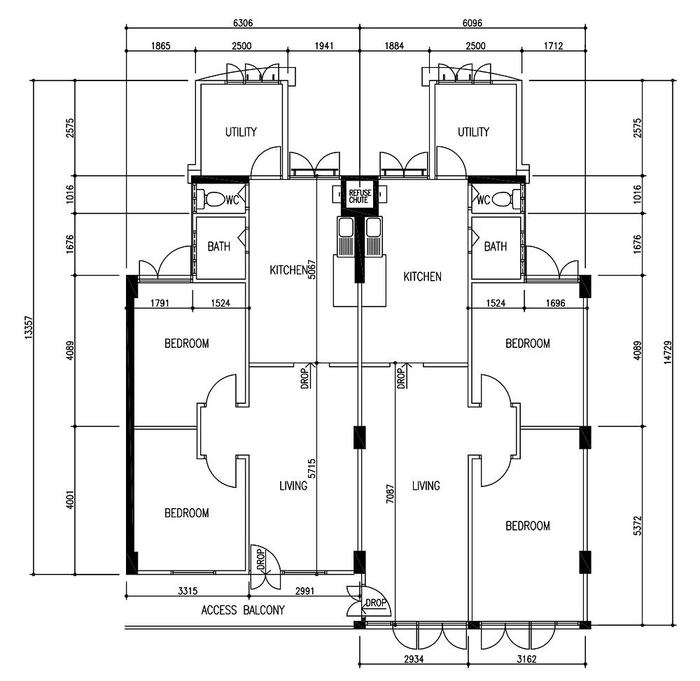 jumbo unit, conversion unit, adjacent unit, buy marine parade hdb flat