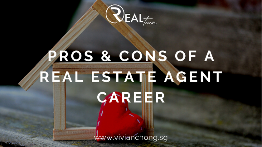 pros and cons of a real estate property agent career