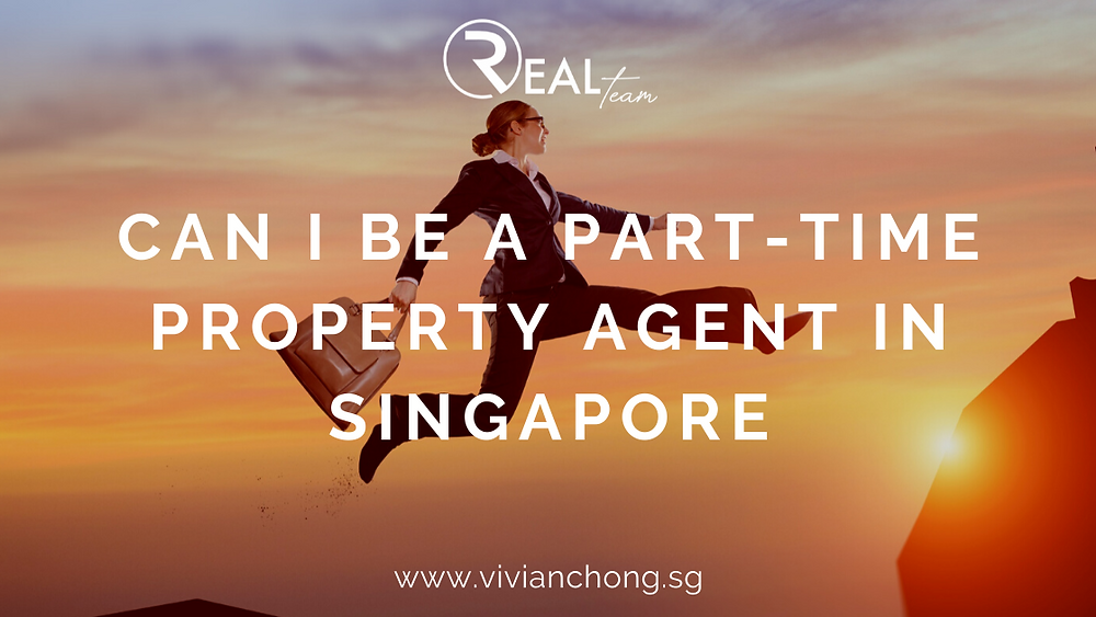 part time full time real estate agent