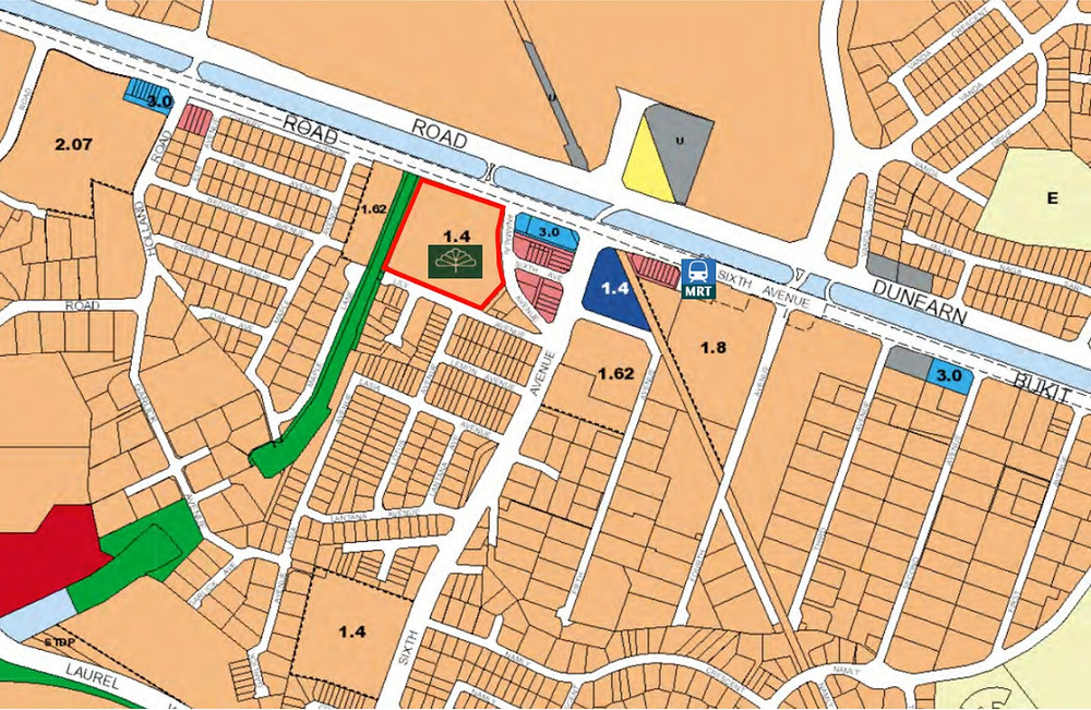 royalgreen surrounded by landed properties