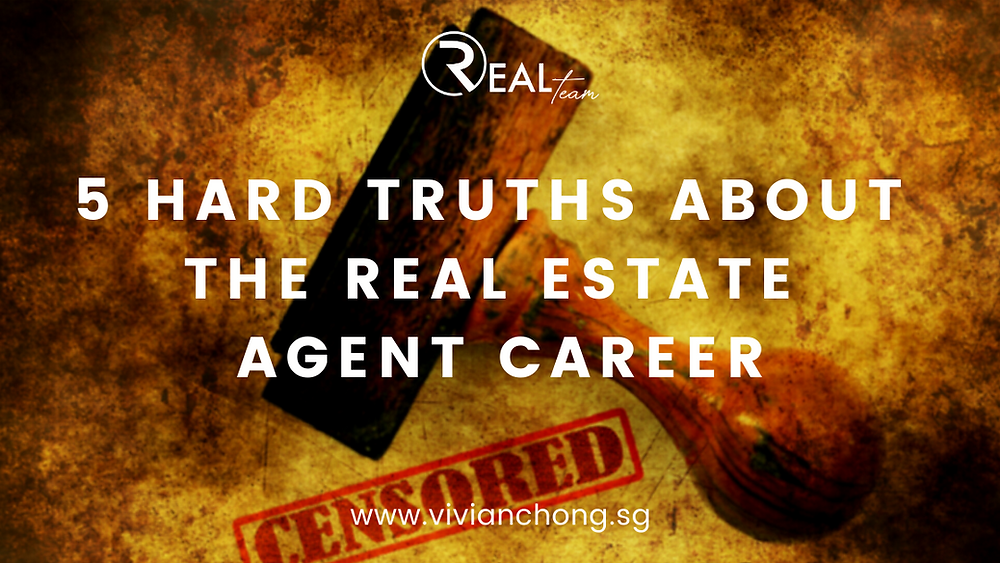 hard truths about property career real estate agent career