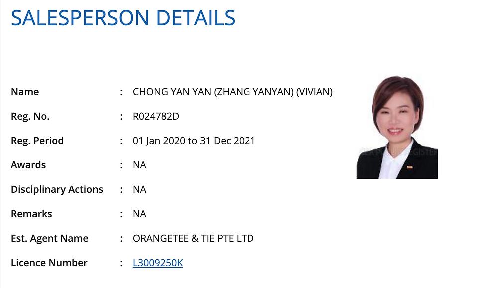 Vivian Chong Property real estate agent leader mentor