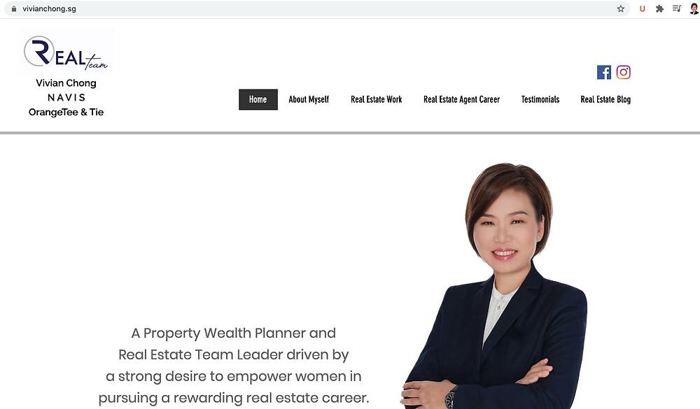 female real estate career leader, women leader