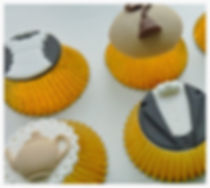 Downton Abbey themed cupcake decorating class
