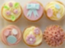 Vintage cupcake decorating