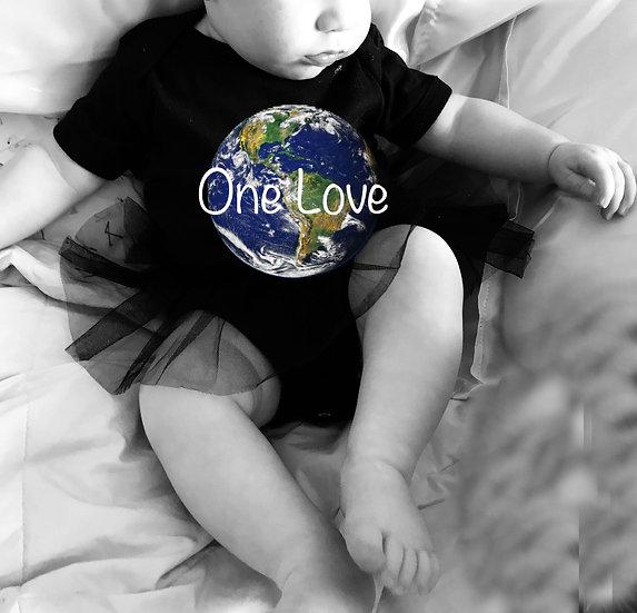 One Love TuTu Onsie