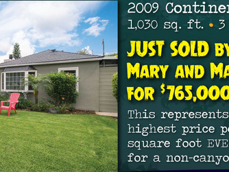 Record price in Canyon Park, co-listed by Mary Fewel and Matthew Fletcher