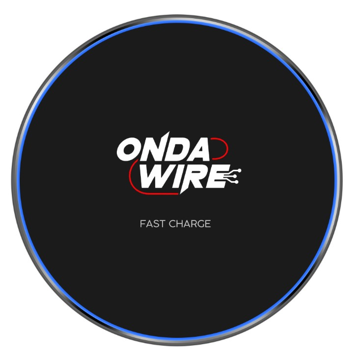 OndaWire fast charger (black)