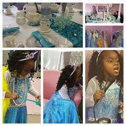 Frozen Inspired Dress Up Tea Party