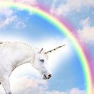 Unicorn with rainbow in the sky.jpg