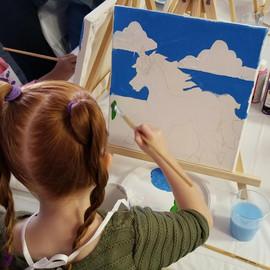 Kid Paint Parties