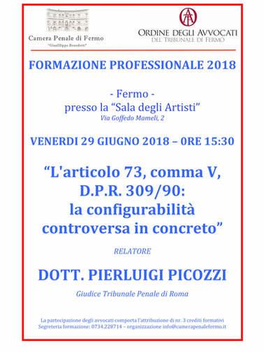 locandina FORMAZIONE PROFESSIONALE 2018