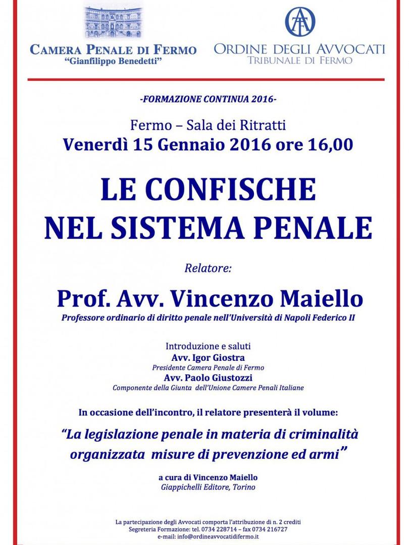 Locandina evento 15.1.16 (prof. maiello)