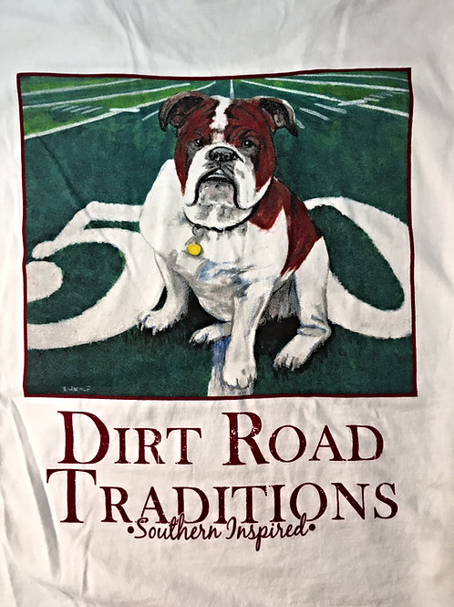 #1021 Adult Short Sleeve Bulldog/50yd. Line