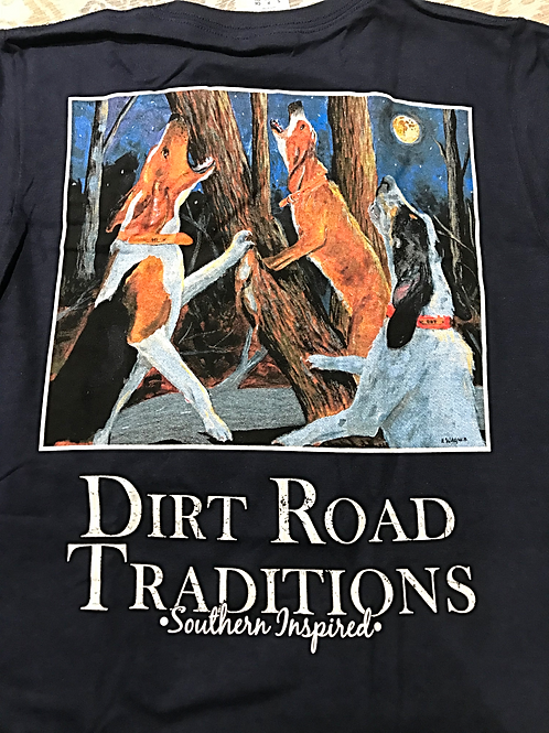 #2040 Youth Short Sleeve Howling Dogs