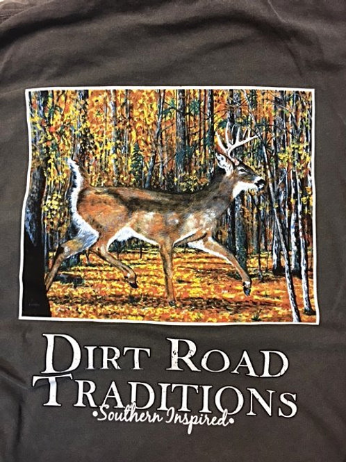 #2032 Adult Long Sleeve Deer