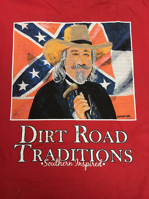 #1035 Adult Short Sleeve Colonel Reb