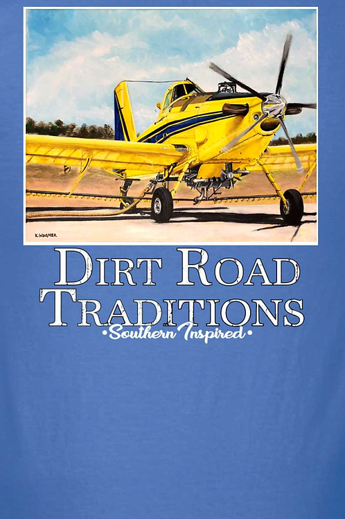 #1069 Adult Short Sleeve Crop-duster