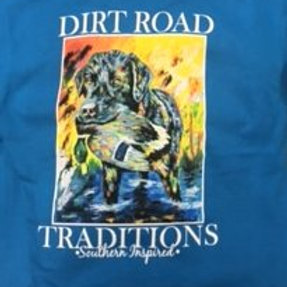 #2033 Youth Long Sleeve Blue Do/Duck