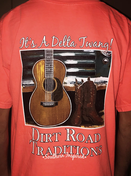 "#1060 Adult Short Sleeve ""It's a Delta Twang"""