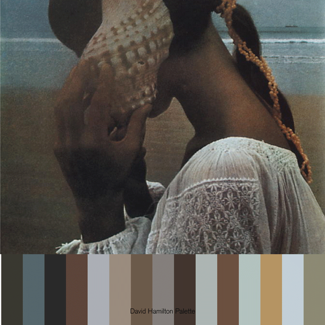 color, girl and shell