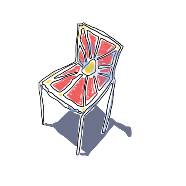 wiggly chair