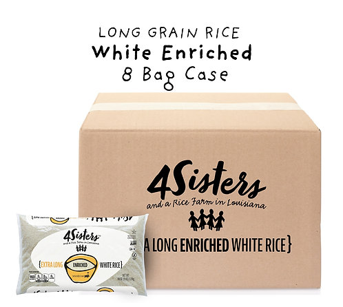 8 - 5 lb. Bags / White Enriched.