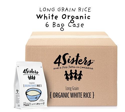 6 - 2 lb. Bags / Organic White.