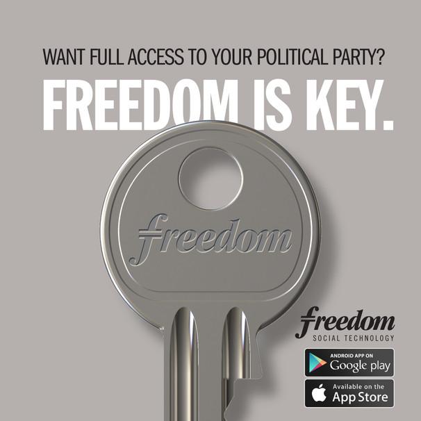 Freedom. Worldwide