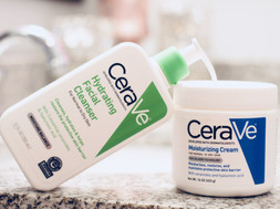 CeraVe® Moisturizing Cream & Hydrating Facial Cleanser  | Product Review