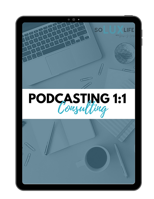 Podcasting 1:1 Consulting