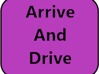 Arrive & Drive - One child