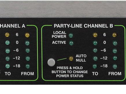 Interface Dante de intercomunicação modelo 45DC