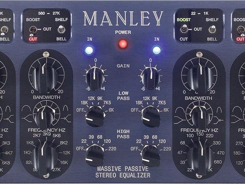 Manley Massive Passive EQ Estéreo versão Red Power