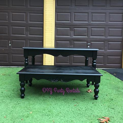 Black victorian table
